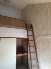 2階はロフト付き